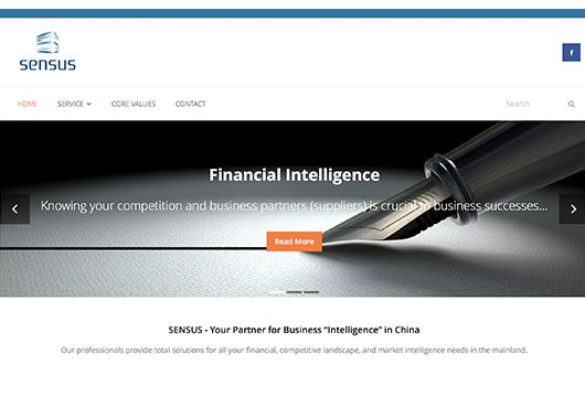 市場研究網頁設計